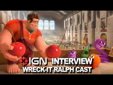 Wreck-It Ralph Cast - IGN Interview