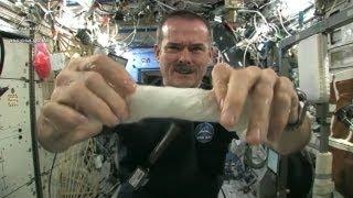 Tücken der Schwerelosigkeit: Die Weltall-Tricks des Bowie-Astronauten Chris Hadfield
