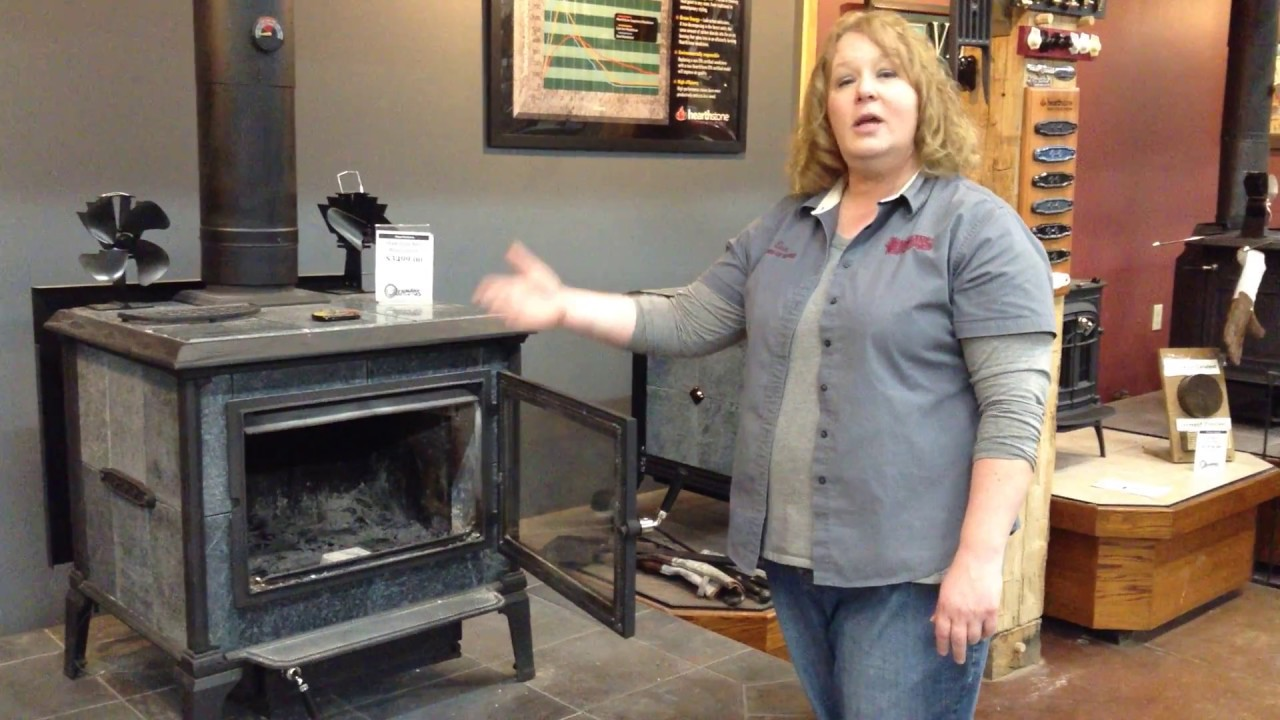 hearthstone mansfield wood heat stove youtube