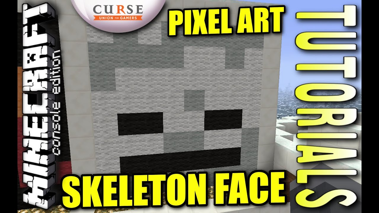 how to get a skeleton head in minecraft xbox