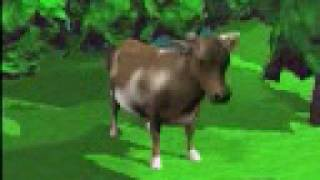 смешная корова