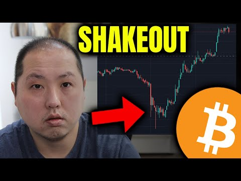BITCOIN HEADS HIGHER AFTER SHAKEOUT   500K SUB GIVEAWAY WINNERS