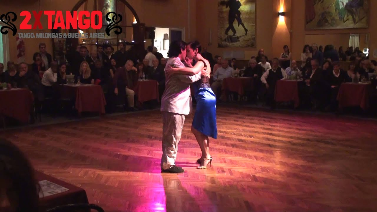Carlos rodriguez brigita ur tango en salon canning sept 2013 for A puro tango salon canning