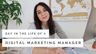 Day in the Life of a Digital Marketing Manager 👩🏻‍💻 |  Working From Home