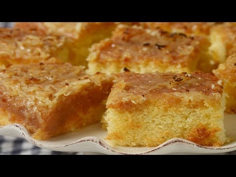 Lazy Daisy Cake Recipe Demonstration - Joyofbaking.com