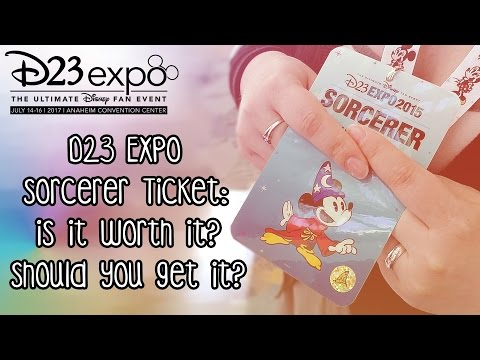 D23 Expo Sorcerer Ticket: Is it WORTH it? Should You Get it? Pros and Cons/Review