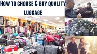 how to choose buy quality luggage for your next trip travel tips