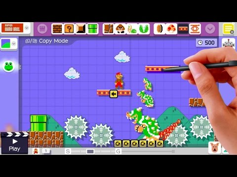 Super Mario Maker - Coming Soon Official Trailer