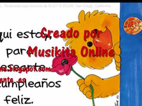 Feliz cumplea os cancion para felicitar youtube - Feliz cumpleanos en catalan ...