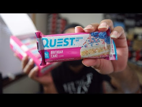 BIRTHDAY CAKE PROTEIN BARS REVIEW