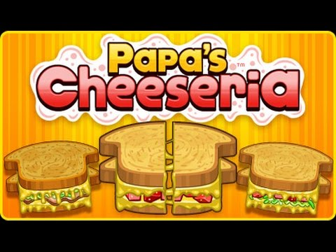 Papa S Cheeseria Intro Gameplay Youtube