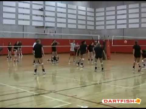 University of Cincinnati Volleyball 4 Ball Wash Drill