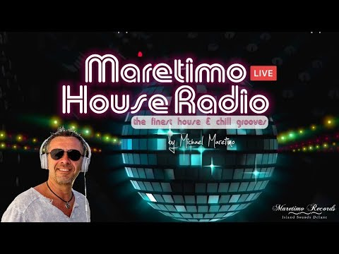 "Livestream ""Maretimo House Radio"" with 🎧 DJ Michael Maretimo ...download our free radio app !"