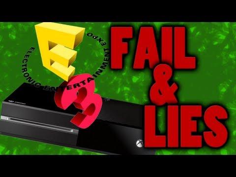 E3 2013 Microsoft Conference REVIEW - XBOX ONE GO HOME! LIES & FAILURE!!