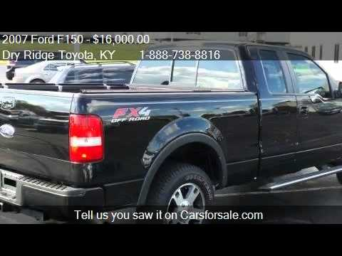 2007 ford f150 fx4 for sale in dry ridge ky 41035 youtube. Black Bedroom Furniture Sets. Home Design Ideas