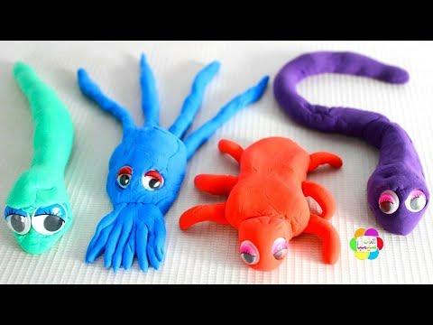 لعبة الحشرات الجديدة بالصلصال للاطفال العاب السلايم و الصلصال للبنات والاولاد play doh Insects toys