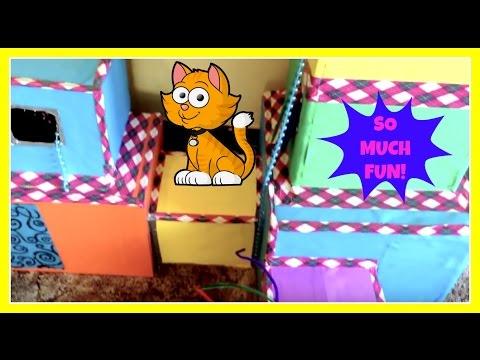 GIANT DIY CAT PLAY HOUSE