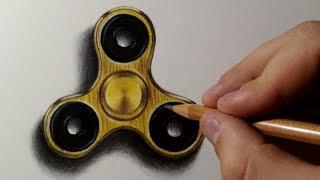 Fidget Spinner drawing