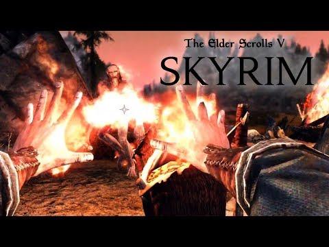 SKYRIM #2 - Enfrentando Gigantes e um Dragão! (Gameplay em Português PT-BR) thumbnail