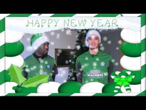 Celtic FC - 2014 Players New Year wishes and Resolutions