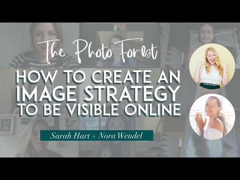 #Masterclass with Sarah Hart ☛ How to create an image strategy