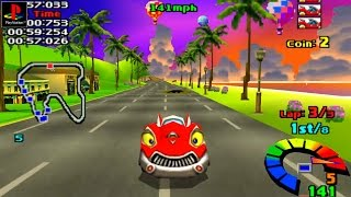 Motor Toon Grand Prix - Gameplay PSX / PS1 / PS One / HD 720P (Epsxe)