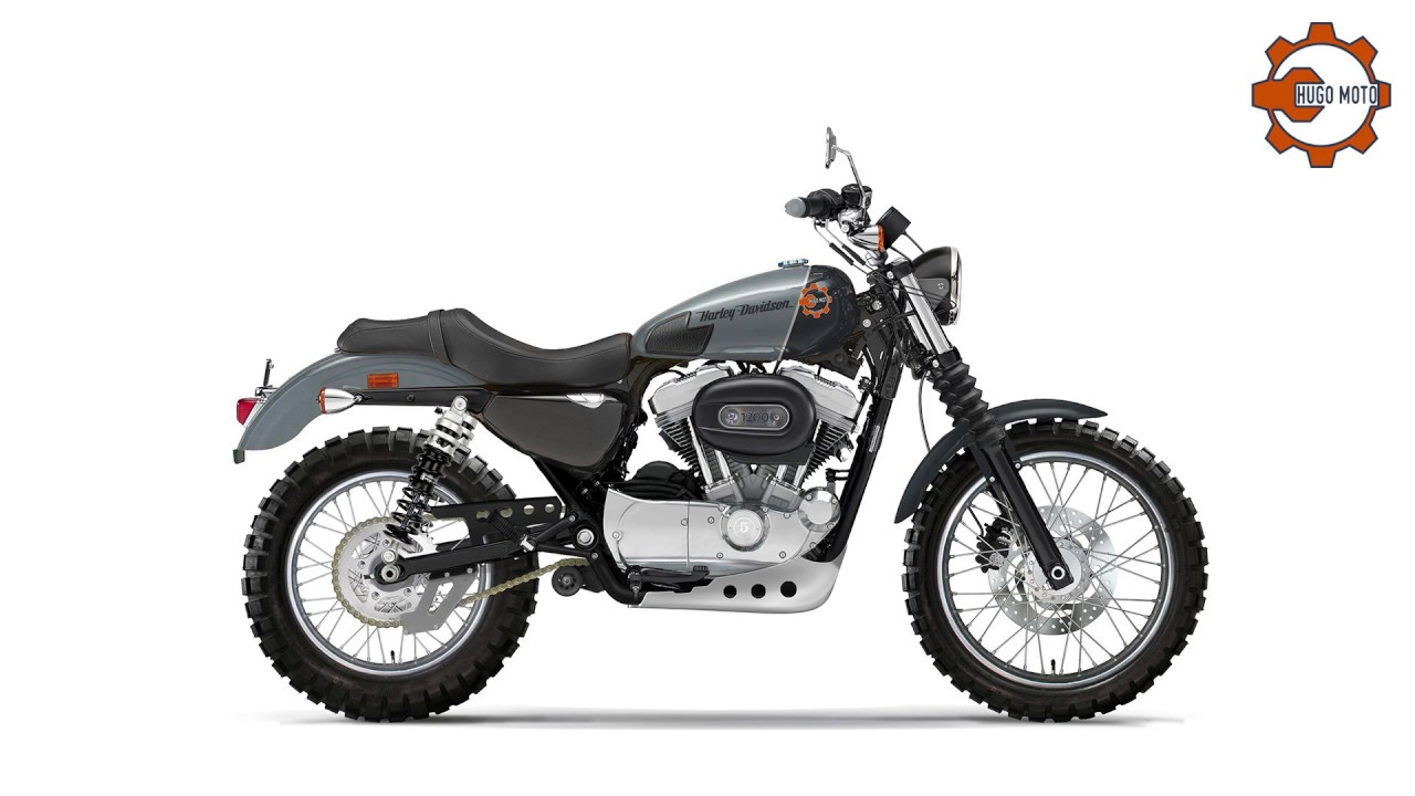Hugo Moto World Tour Harley Sportster
