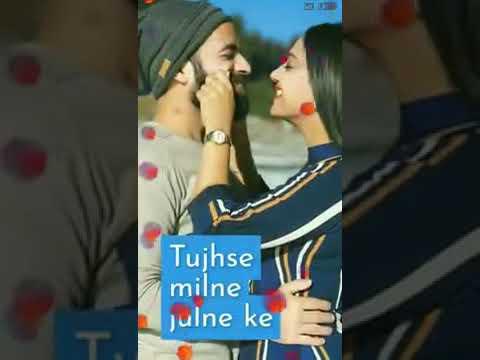 Tujhe Nhi Dekhu To Jiya Ghabraye......... New WhatsApp Status And........video Song.........