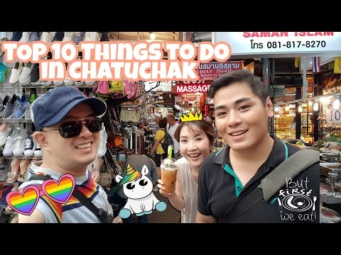Vlog Myfunfoodiary: Top 10 Things to do in Chatuchak, Bangkok - Thailand