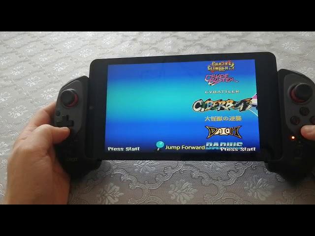 Vidéo de démarrage de la nouvelle console Retro Portable de 2 Players Shop