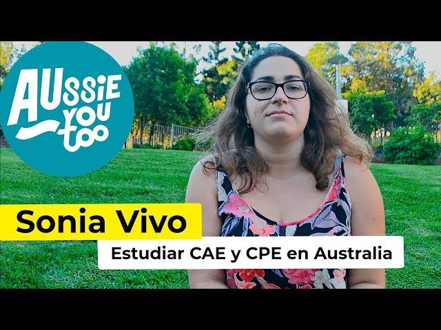 Estudiar CAE en Gold Coast y CPE en Brisbane - Sonia Vivo