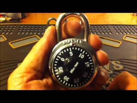 Смотреть (20) Decoding a Dial Combination Master Pad Lock (The fast and easy way)) онлайн