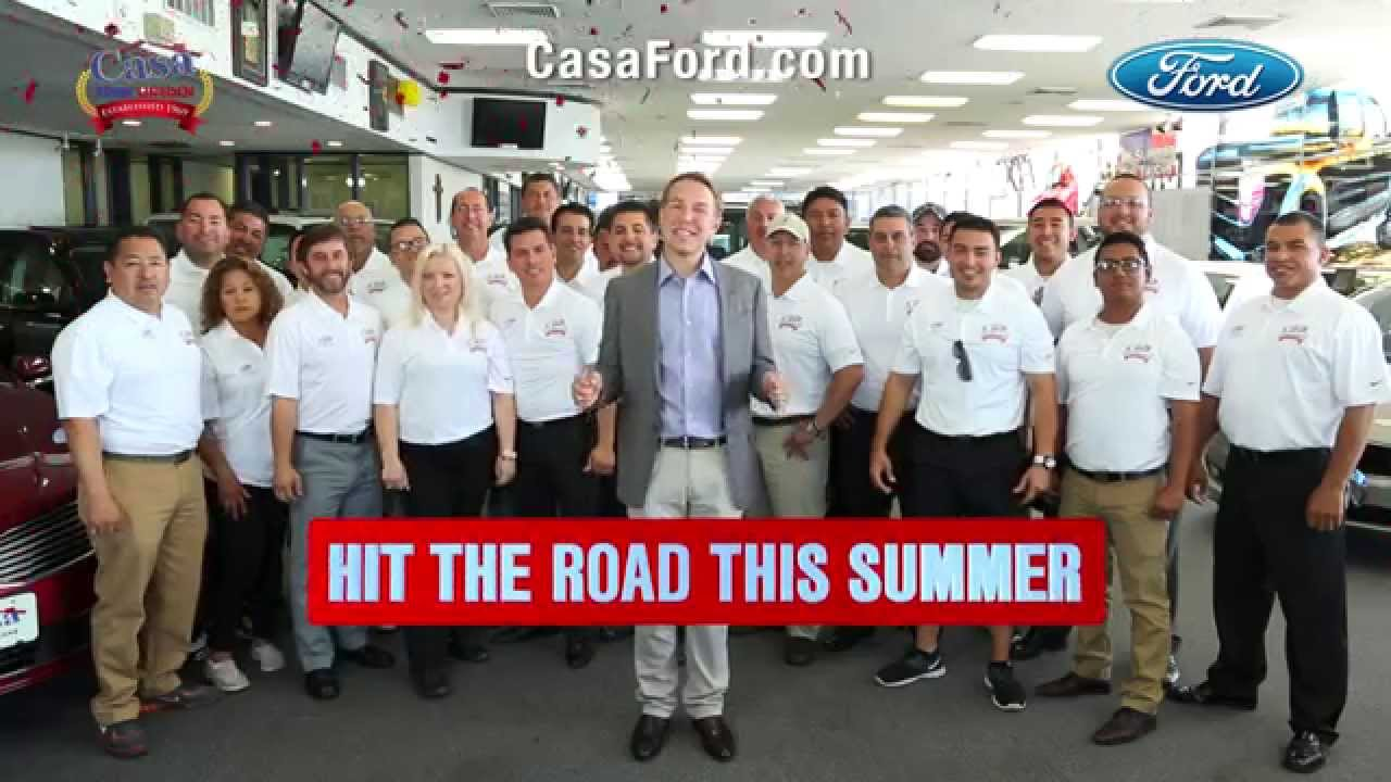 Casa Ford El Paso >> Casa Ford Summer Sales Event 0 For 72 Months On Select Ford Models