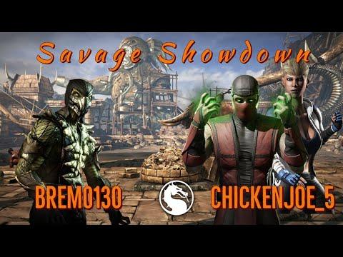 Savage Showdowns! Brem0130 (Reptile) vs Chickenjoe_5 (Ermac, Cassie) FT10