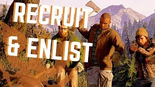 State of Decay 2 | How to RECRUIT & ENLIST Survivors