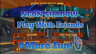 Neon Shadow|Play With Friends:)|Multiplayer Game!