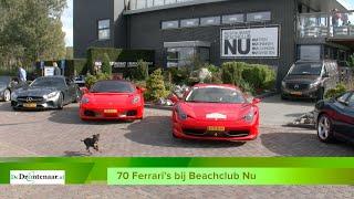 Ferrari's bij Beachclub Nu in Biddinghuizen