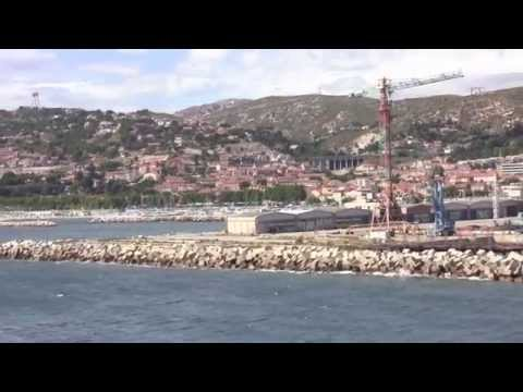 Leaving Marseille Port on the MSC Splendida, Provence-Alpes-Côte d'Azur, France - 12th July, 2014