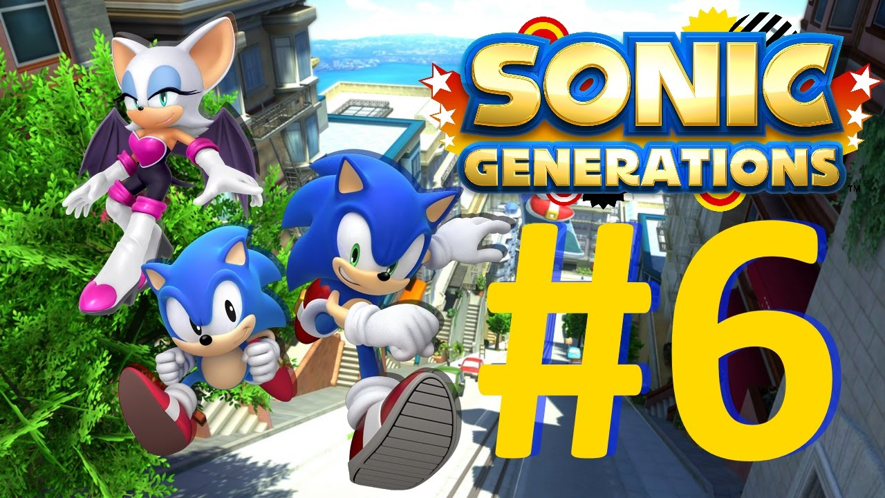 Ps3 sonic generations - Toltec scenic railroad