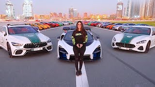 A DAY WITH DUBAI ROYAL FAMILY SUPERCARS !!!
