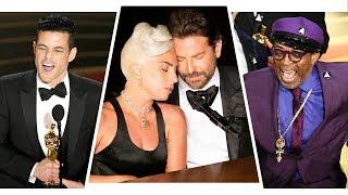 Oscars 2019 Best Moments: Lady Gaga & Bradley Cooper Performance, Rami Malek, Spike Lee Win & More