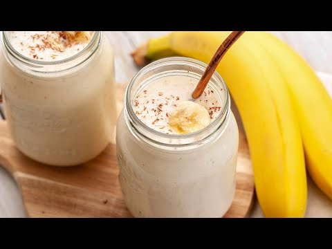How to Make Banana Smoothie Home Cooking Lifestyle