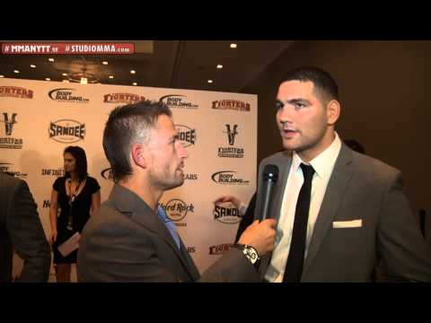 Interview with Chris Weidman at the MMA AWARDS 2012