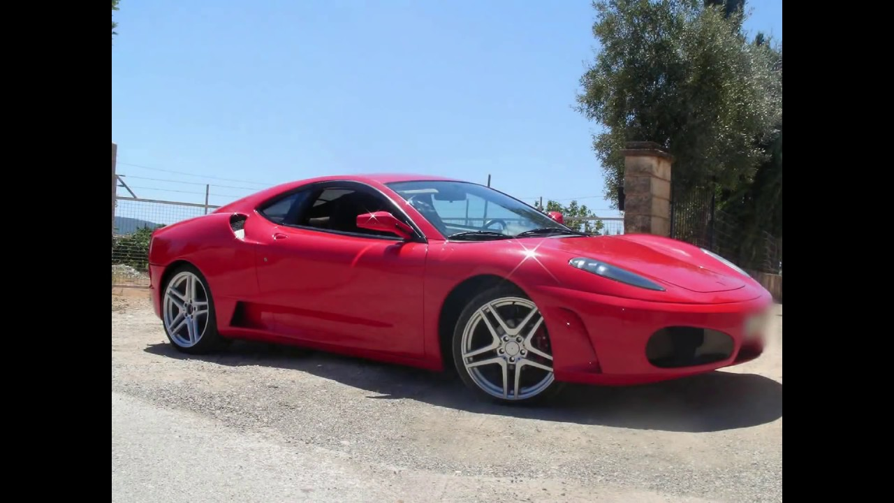 BEST FERRARI F430 REPLICA, TOYOTA CELICA BODY KIT CAR 2013