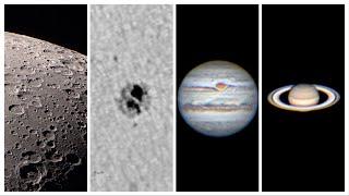 Lunar, Solar, and Planetary Imaging With a Small Telescope screenshot 1