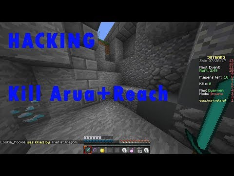 TRYING HACKING FOR THE FIRST TIME|Minecraft Egg Wars