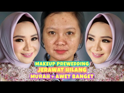 cara-makeup-prewedding-awet-&-murah-jerawat-lenyap.. -flawless-look- -rangga-makeup