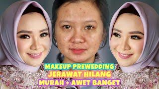 Cover images Cara Makeup Prewedding AWET & MURAH Jerawat Lenyap..| Flawless Look | Rangga Makeup