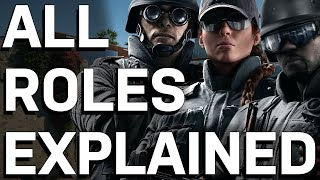 The Three Types of Operators in Rainbow Six Siege