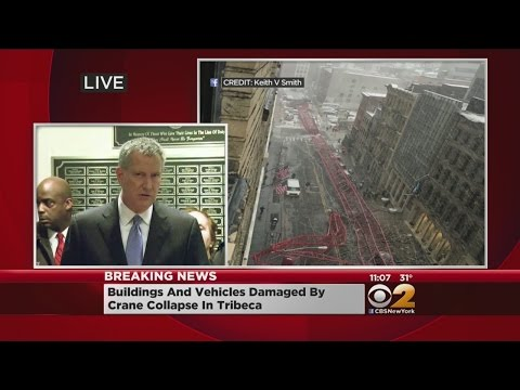 De Blasio On Crane Collapse
